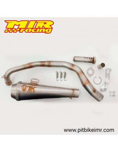 Turbokit exhaust for Pit Bike 190 GP
