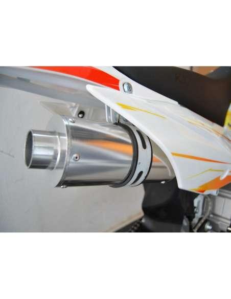 IMR KRZ 125 - TD-D125 14/12 tubo de escape