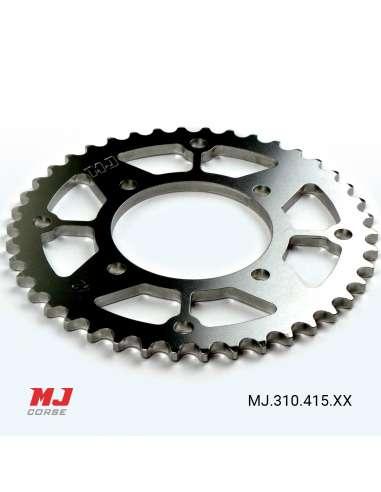 Plato duraluminio pit bike paso 415
